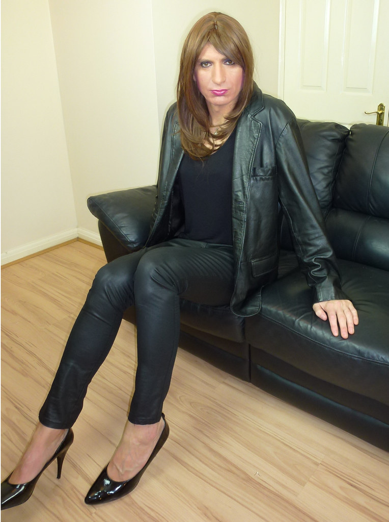 pants Milfs boots leather