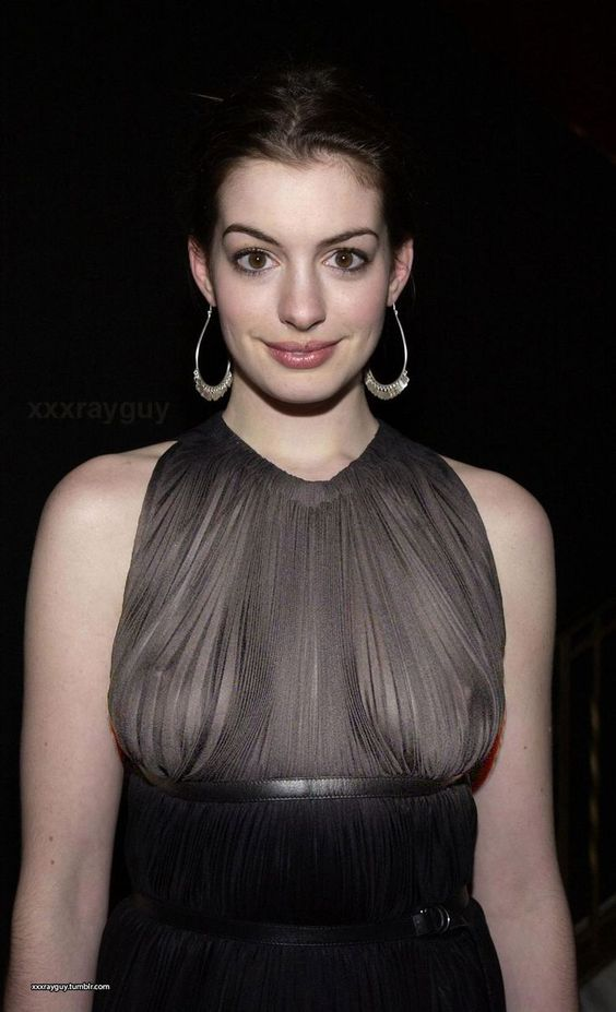 see Anne through clothes hathaway
