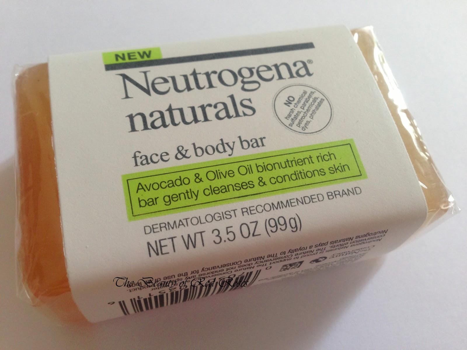 facial bar ingredients Neutrogena