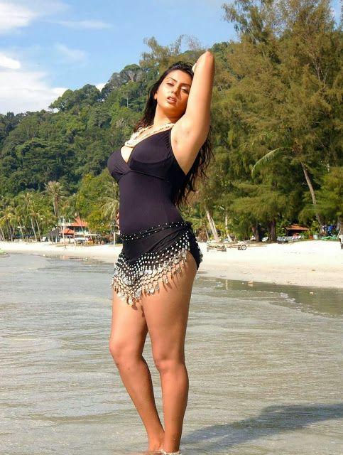 nude Indian actress beach